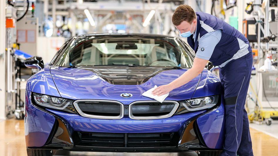 BMW-Fertigung in Leipzig: Der Autobauer meldet überraschend verbesserte Finanzzahlen