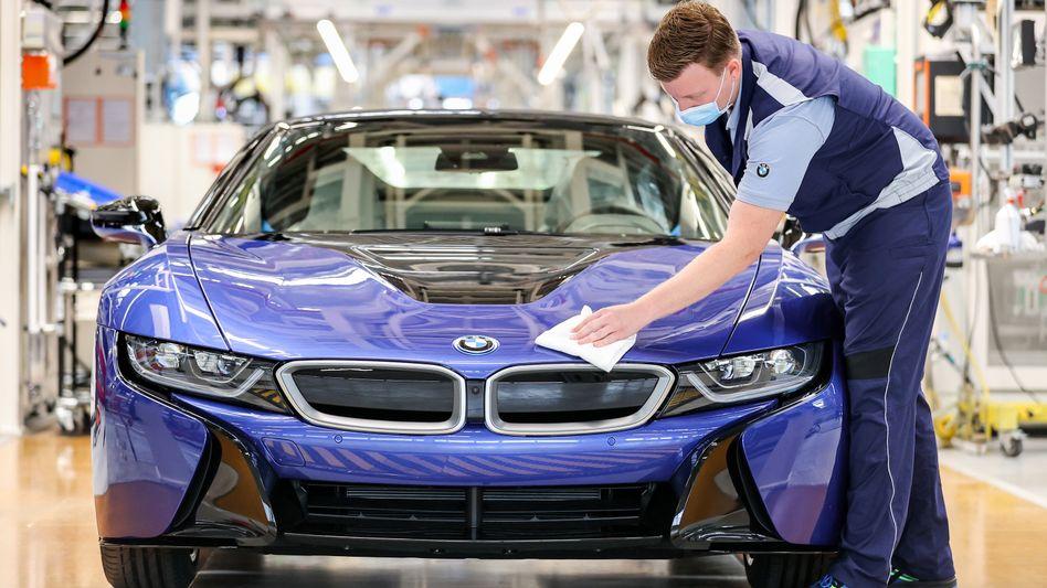 Endabnahme: BMW-Produktion in Leipzig