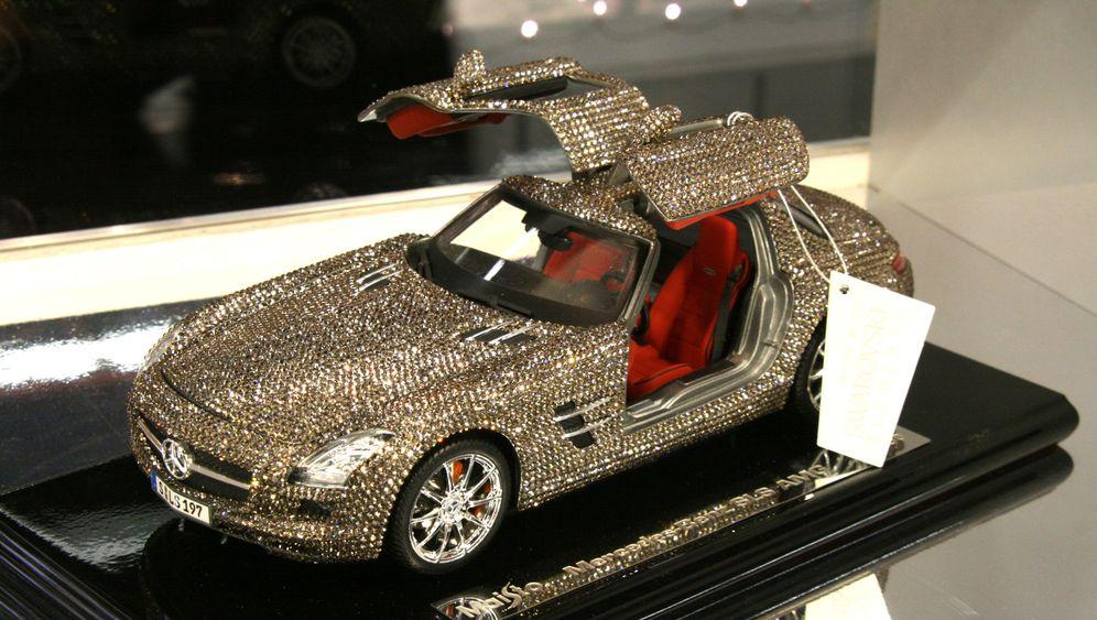 Spielwarenmesse Nürnberg: Luxusautos im Kleinformat