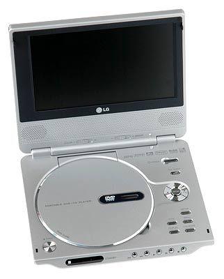 Zeitlich unbegrenztes Fernsehen dank Zigarettenanzünder: Portabler DVD-Player von LG Electronics