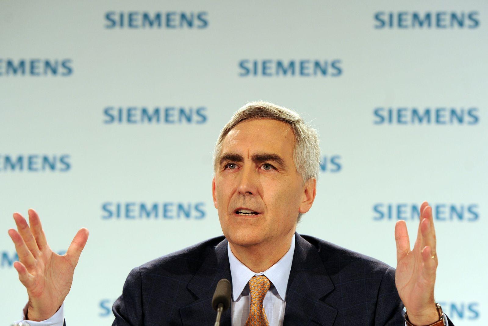 Siemens / HV / Hauptversammlung / Peter Löscher