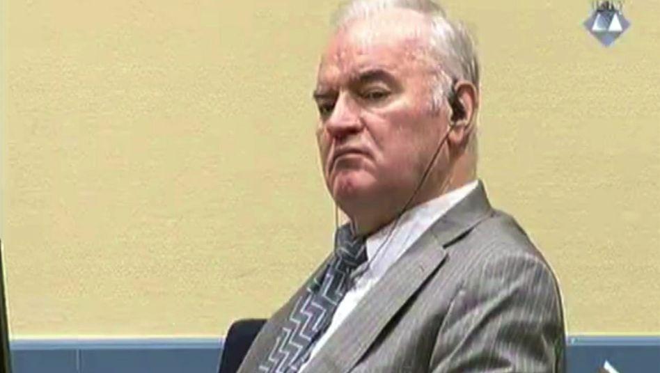 Der Schlächter vom Balkan: Ratko Mladic ist vom UN-Kriegsverbrechertribunal schuldig gesprochen worden