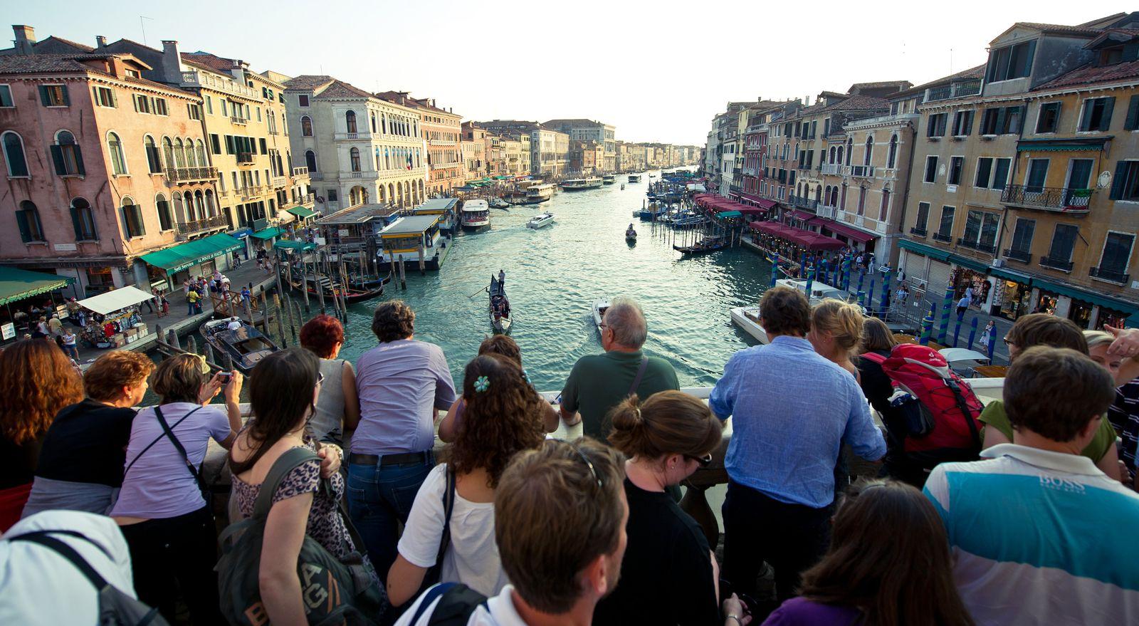 Italien / Venedig / Touristen