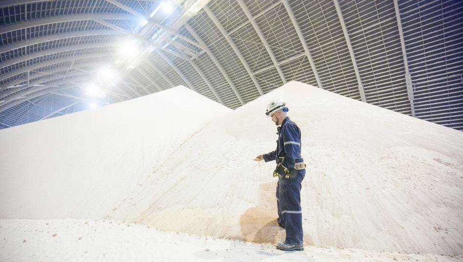 """Salzlager von Potash: Die Kanadier lassen sich vom """"Nein"""" der Kasselaner nicht beeindrucken - Aktionäre erwarten eine feindliche Übernahme"""