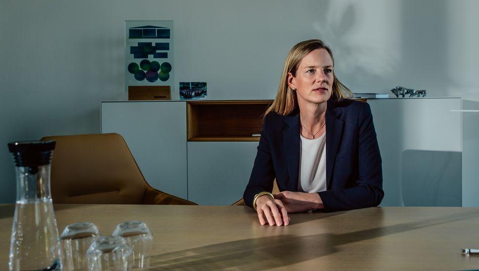 Unverstellt: Vonovias Finanzchefin Helene von Roeder in der Konzernzentrale in Bochum