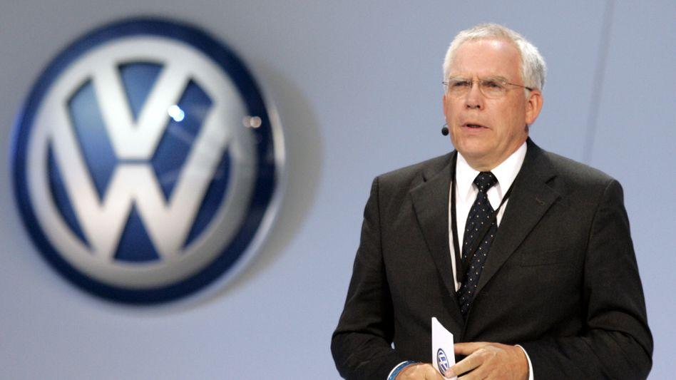 Streitet alle Vorwürfe ab: Der ehemalige Entwicklungsvorstand Ulrich Hackenberg wollte dem Vergleichsvorschlag nicht zustimmen