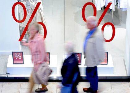 Kaum Vorfreude auf Weihnachten: Im November und Dezember werden weniger Einzelhandelsumsätze als im Vorjahr erwartet
