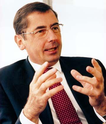 Kann gute Zahlen präsentieren: Hypo-Real-Estate-Chef Georg Funke
