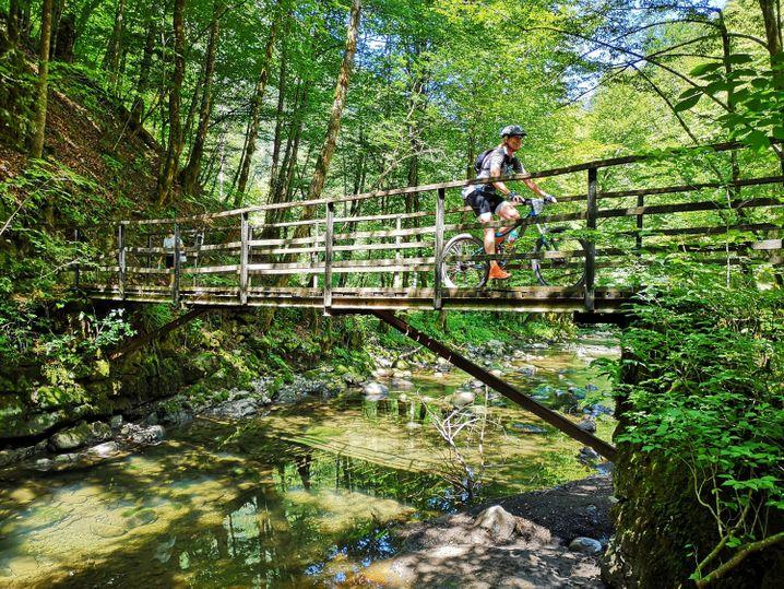 Die Hochebene von Gorski kotar im Nordwesten Kroatiens ist eines der letzten Wildnis-Gebiete Europas. Auch spezielle Routen für Radfahrer gibt es hier.