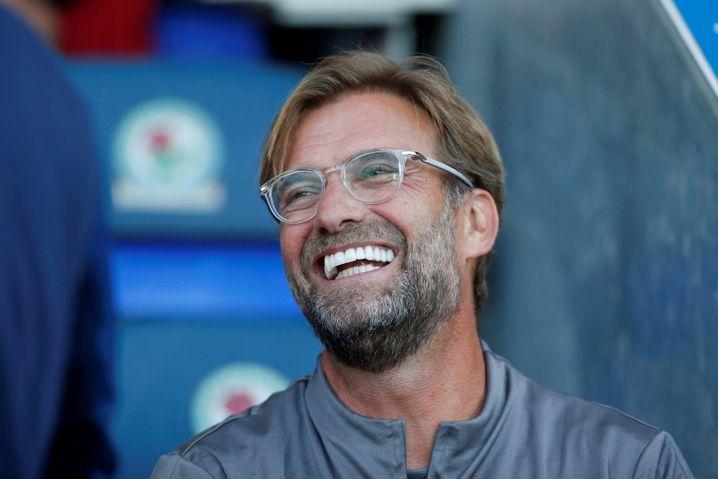 Aufgeforstet: Liverpool-Trainer Jürgen Klopp trägt gerne viel Gesichtshaar