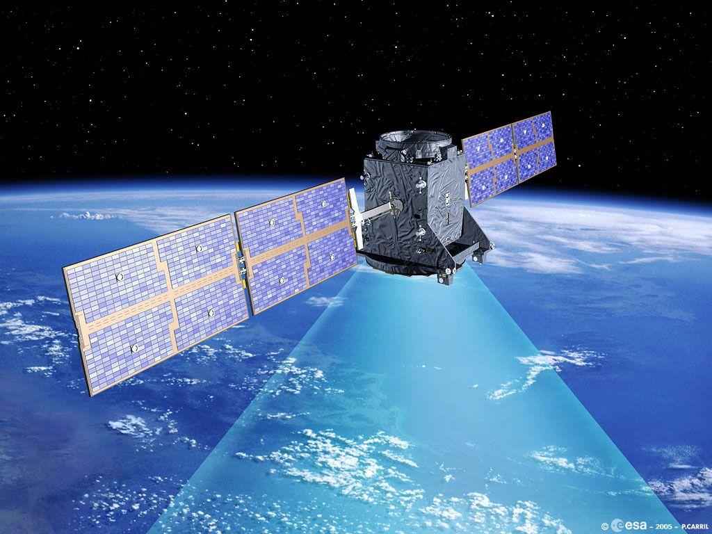 GIOVE-A-Satelliten