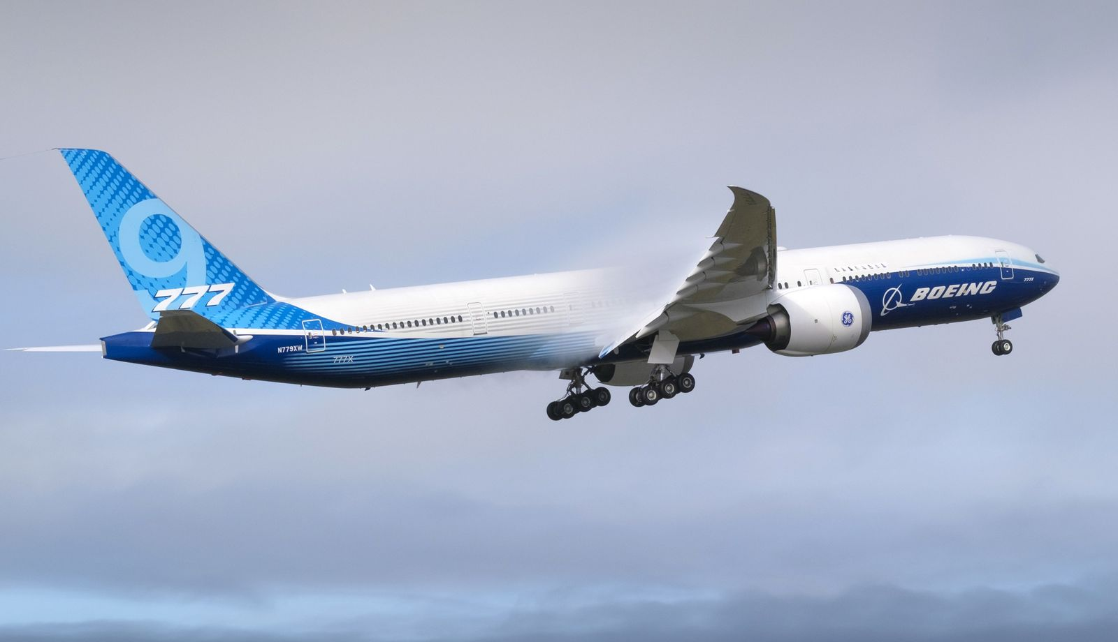 Boeing Conducts Third Attempt At First Flight Of 777X Airplane