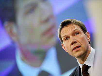 Baut um: Telekom-Chef Obermann will die Führungsstruktur des Konzerns verschlanken