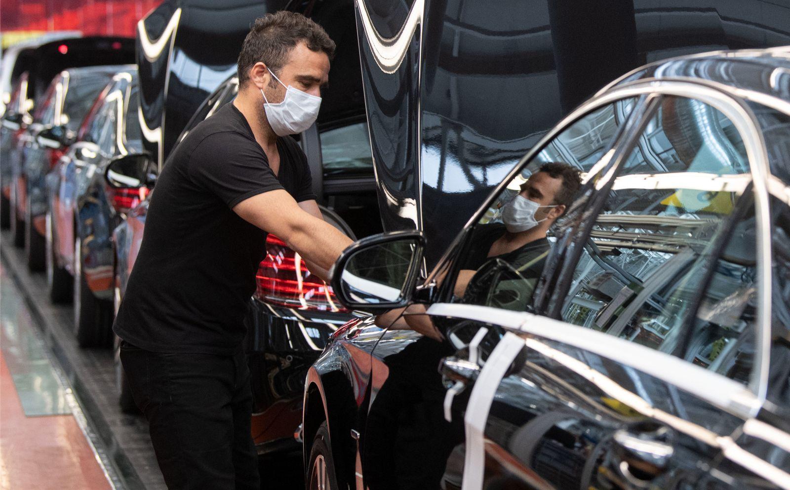 Daimler AG - Produktion der S-Klasse