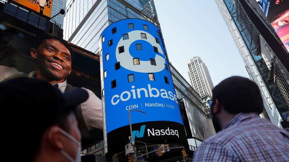Börsengang: Seit April ist Coinbase an der Nasdaq notiert