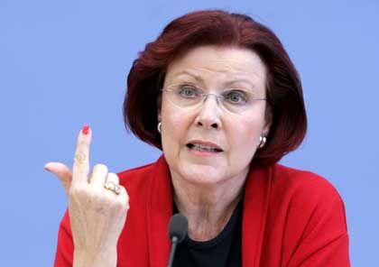 """Ministerin Wieczorek-Zeul (SPD): """"Wir fragen uns immer, wer ist eigentlich der deutsche Bill Gates und wo ist er?"""""""