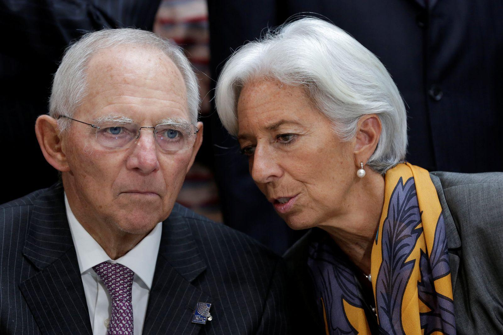 IWF Schäuble Lagarde