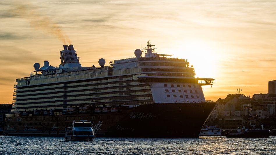 Kreuzfahrtschiff in Hamburg: Die Ozeanriesen beförderten zuletzt so viele Reisende wie noch nie.