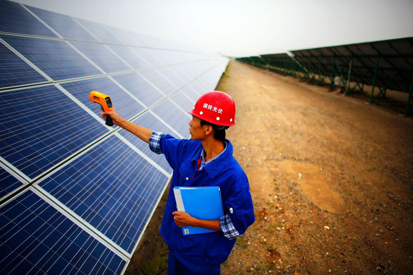 China / Solar-Energie / Solarstrom / Solaranlagen / Solarzellen (Kopie)
