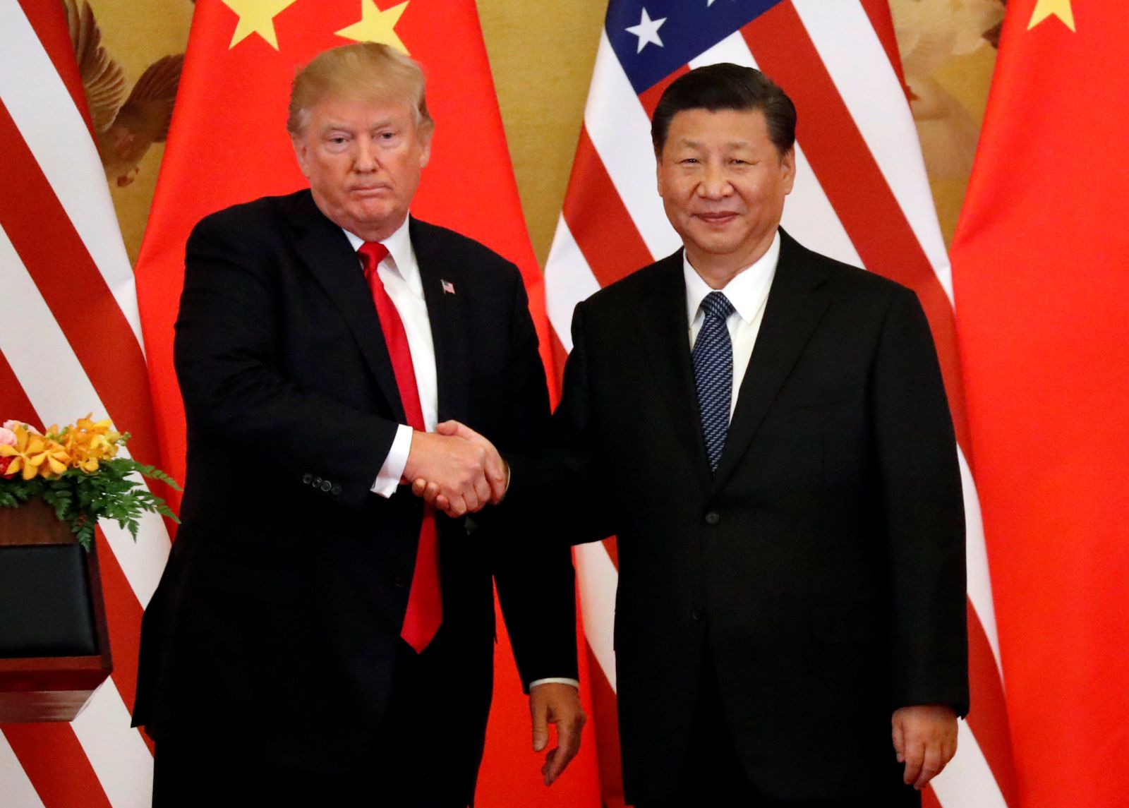 USA China Trump Xi