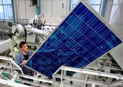 Montageroboter erhält Feinschliff: Solarworld hat im dritten Quartal seinen Umsatz und Gewinn gesteigert