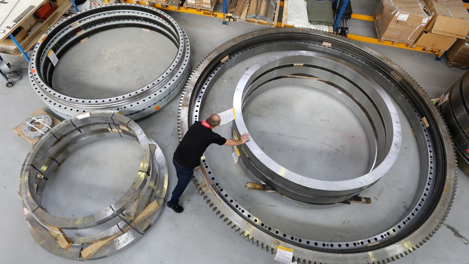 Maschinenbau: In vielen Branchen stapeln sich die Bestellungen