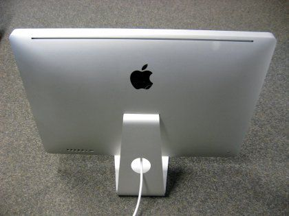 Der neue iMac: Flachbildschirm im Aluminium-Gewand