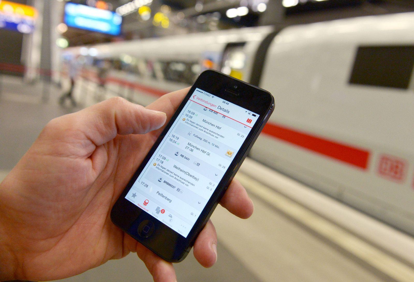 Deutsche Bahn/ ICE / Digitalisierung