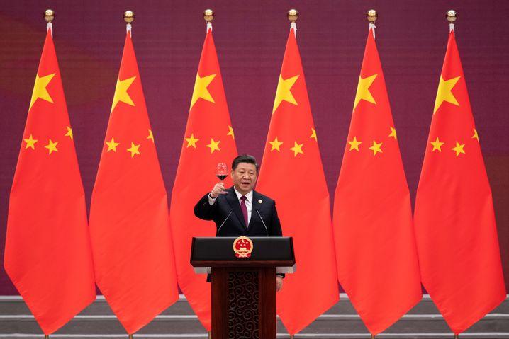 Ein Hoch auf uns: Staats- und Parteichef Xi Jinping.