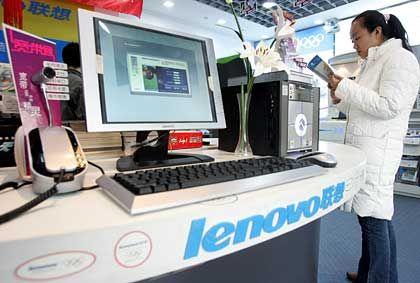 Chinesischer Konzern Lenovo: Durch den Kauf von IBMs PC-Sparte zum drittgrößten Computerhersteller der Welt aufgestiegen
