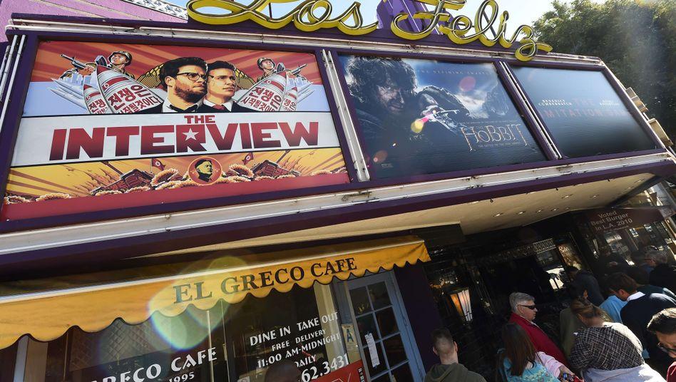 """Kein Spaß: Viele Kinos nahmen die Komödie """"The Interview"""" nach Anschlagsdrohungen aus dem Programm"""