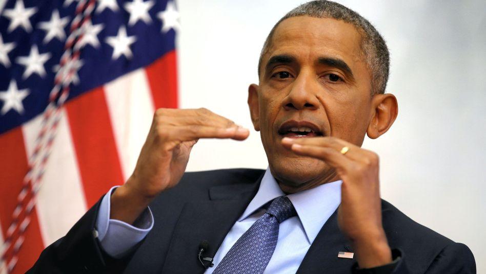 Ex-US-Präsident Barack Obama hat Übung im Interviews geben - nun könnte er zum Fragesteller werden