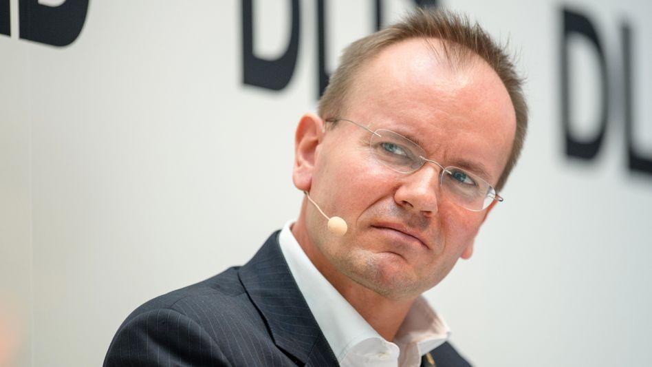 Hatte in großem Stil Aktien verkauft: Wirecards Ex-Chef Markus Braun (Archivaufnahme, 2018)