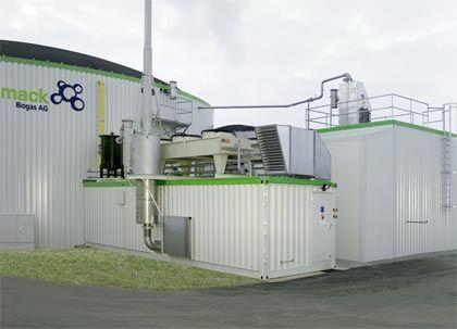 Unprofitables Geschäft: Schmack-Biogasanlage