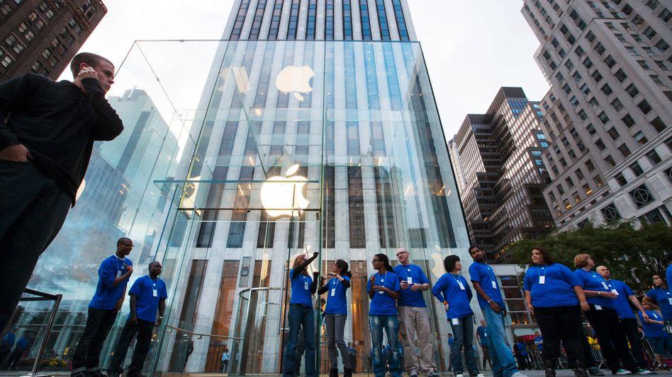 Apple Store in New York: Der iPhone-Hersteller kommt auf den Ku'damm