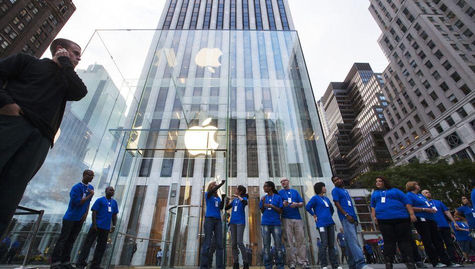 Vorbereitungen zum Verkauf des neuen iPhones: Apple hofft auf den gleichen Erfolg bei dem jetzt angekündigten Modell