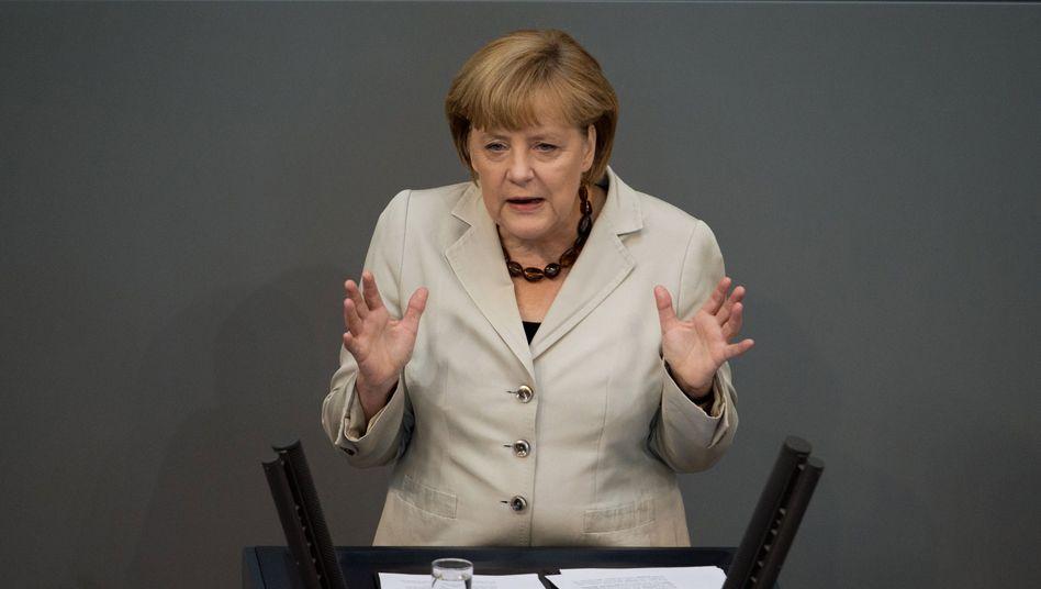 """Kanzlerin Merkel: """"Reformen in den Mitgliedsstatten und eine engere wirtschaftspolitische Koordinierung"""""""
