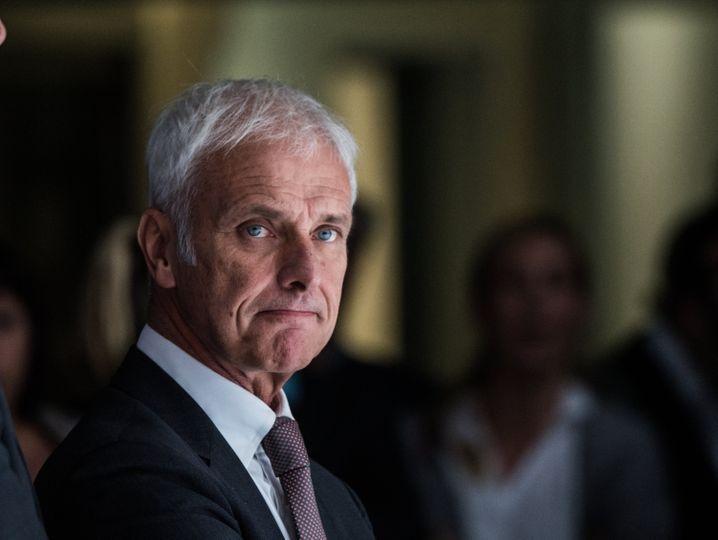 """VW-Chef Matthias Müller: """"Matthias Müller hat seine grundsätzliche Bereitschaft signalisiert, an den Veränderungen mitzuwirken"""""""