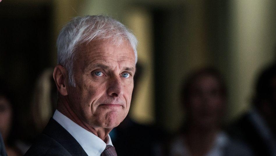 Ärger mit gewerblichen Kunden: VW-Chef Matthias Müller