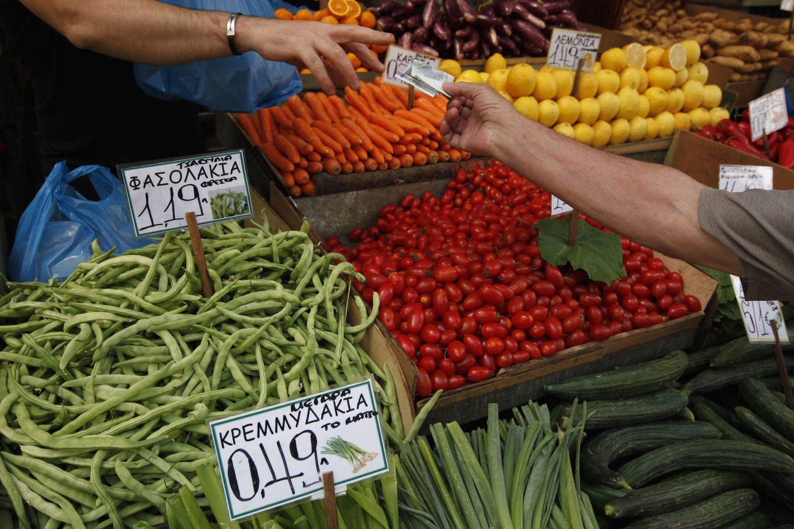 Griechenland / Einkaufen / Markt / Lebensmittel
