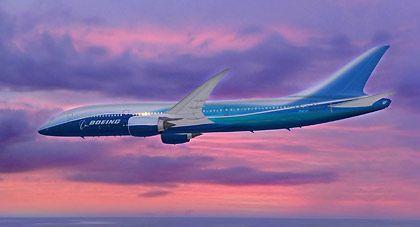 Modell des Dreamliner: Das Projekt ist fast drei Jahre hinter der Zeitplanung