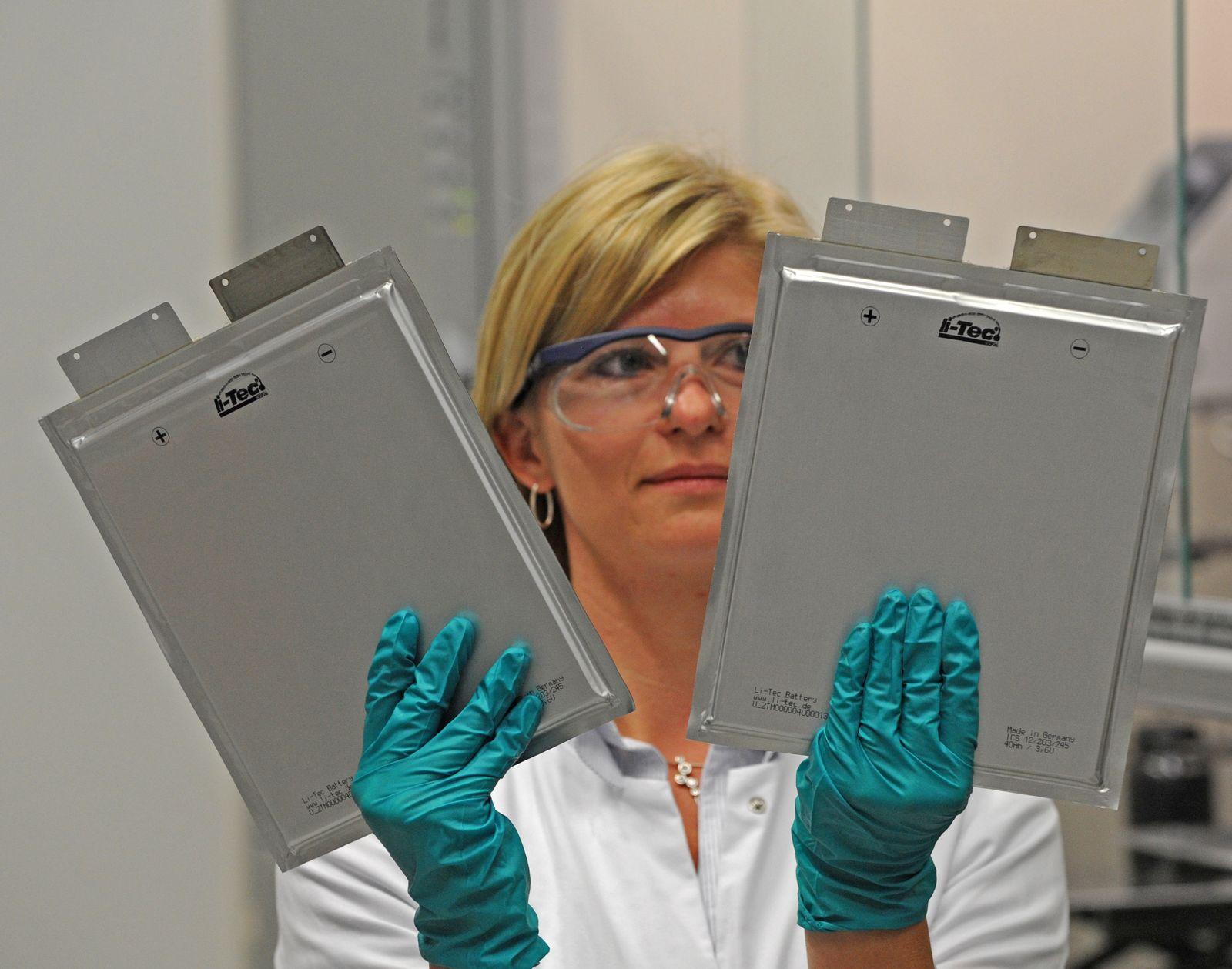 Li-Tec Battery - Zellen für Elektroautos