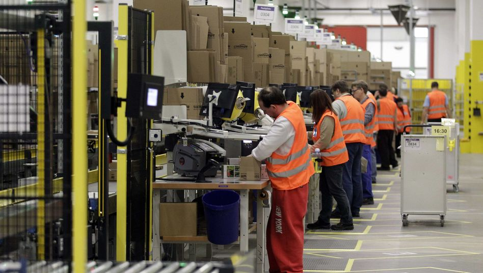 Amazon-Arbeiter: Unterschriften sammeln gegen die Gewerkschaft