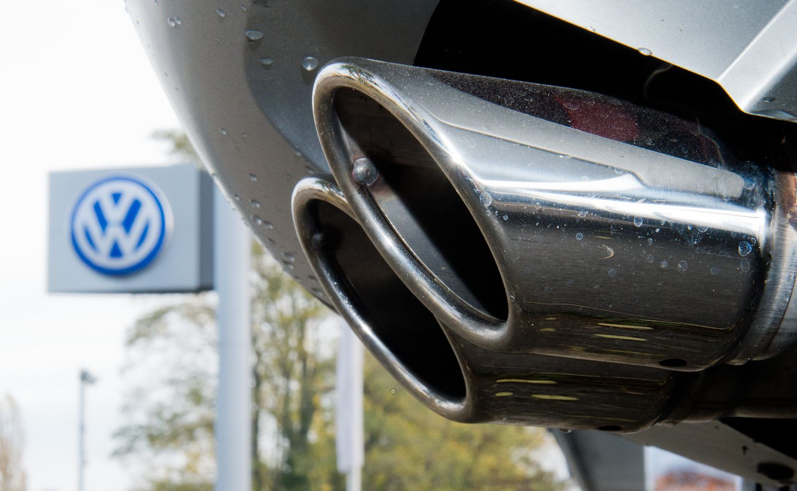 Volkswagen / CO2 / Auspuff