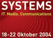 Systems 2004: Rund 1300 Aussteller kommen in diesem Jahr