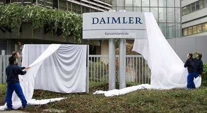 Nach der Trennung von Chrysler: Daimler stellt ein