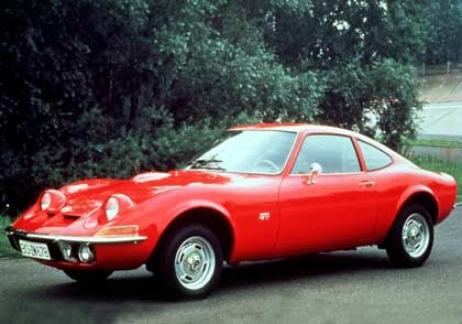 Der mit den Schlafaugen: Der Opel GT ging 1968 in Serie