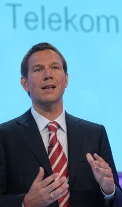 """Telekom-Chef Obermann: """"Rund 1,4 Milliarden Euro eingespart"""""""