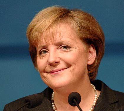 """""""Visionär, der die CDU antreiben soll"""": Unions-Kanzlerkandidatin Merkel"""