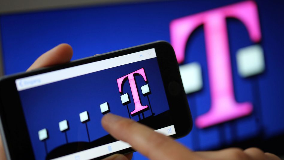 Vor allem in den USA erfolgreich: Die Telekom legte erfreuliche Quartalszahlen vor